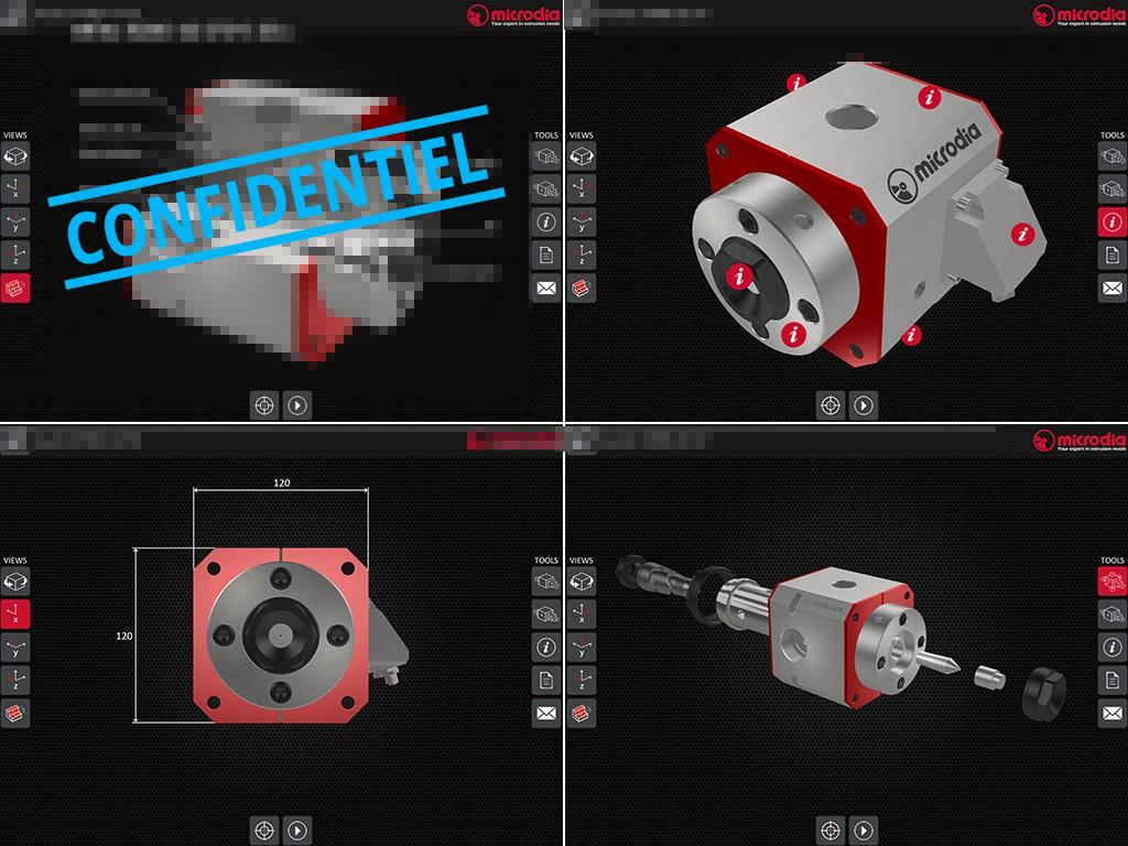 Solution commerciale 3D pour Microdia
