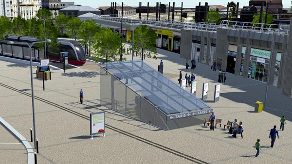 Simulateur 3DSwipe Gare SNCF de Dijon