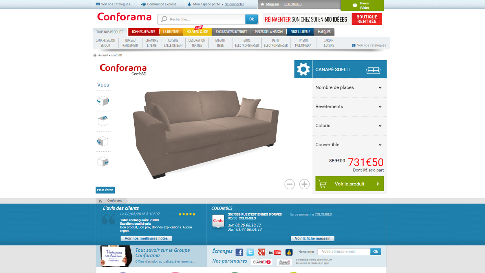 Image Conforama 3Dswipe