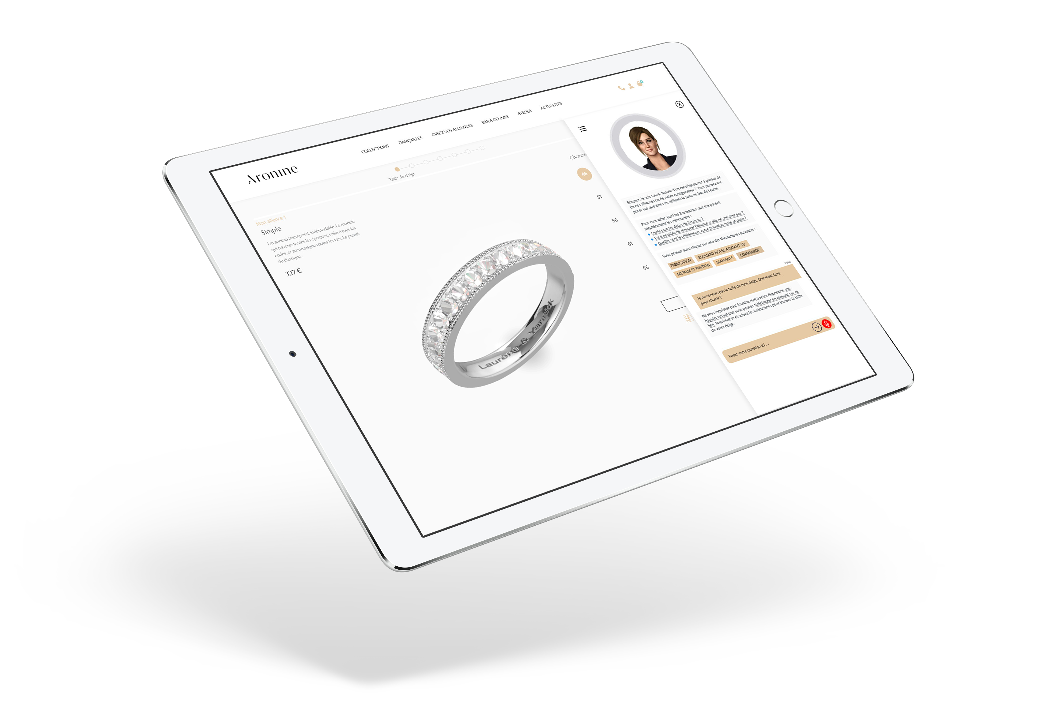 Conseiller Clientele Conversationnel Chatbot 3Dswipe