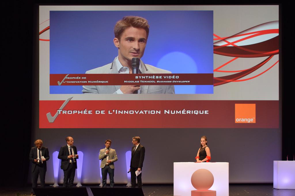 3Dswipe récompensé par Orange
