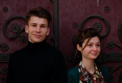 Portrait de Richard et Svetlana de Aronine